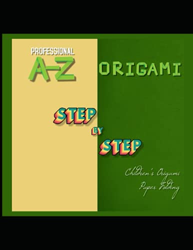 Professional A-z Step-by-step Children's Origami Paper Folding