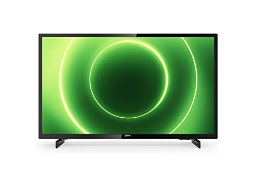 Philips 32PFS6805/12 32-Zoll Fernseher (Full HD LED TV, Pixel Plus HD, HDR 10, Saphi Smart TV, Full-Range-Lautsprecher, 3 x HDMI, 2 x USB, Ideal für Gaming) - Schwarz Glänzend [Modelljahr 2020]