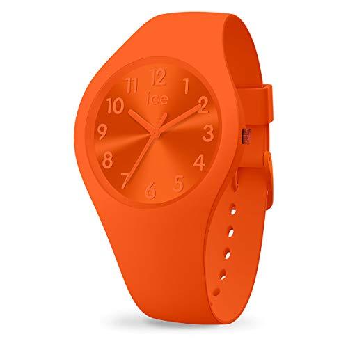 Ice-Watch - ICE colour Tango - Orange Damenuhr mit Silikonarmband - 017910 (Small)