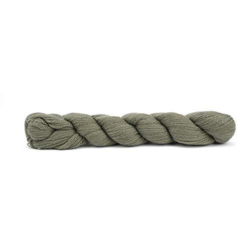 50g Pascuali Yak Lace Luxus Wolle Strickwolle aus 100% Yakwolle. Ein edles Yak Garn zum Stricken der Extraklasse, Farbe:Salbei 04