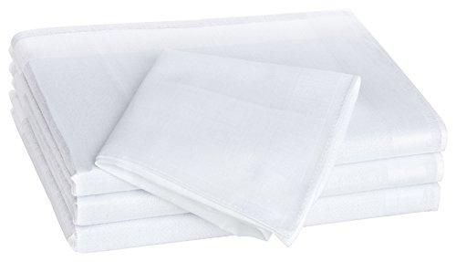 Tobeni 12 Stück Damen Taschentücher Stofftaschentücher Damentaschentücher Baumwolle Farbe Design 14 Grösse 30 cm x 30 cm