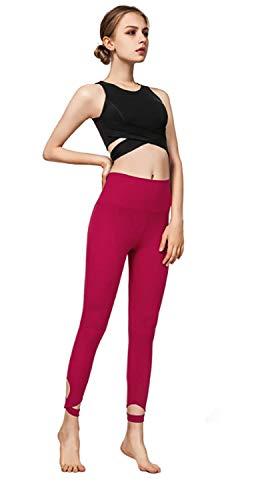 WXJHA Die Frauen Yoga Sets, Sport Outfit Für Frau 2 Stück Gymnastik-Trainings-Set Seamless Sportkleidung Damen Modische Piecing Fitness-Anzug (Pink, Schwarz),Schwarz,S