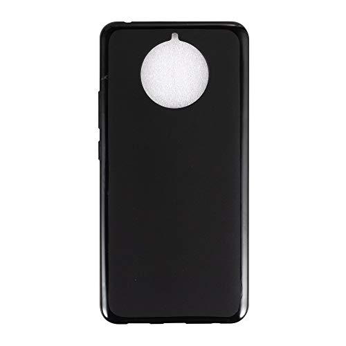 Capa para Nokia 9 Pureview, capa traseira de TPU macia resistente a arranhões à prova de choque de borracha de gel de silicone anti-impressões digitais Capa protetora de corpo inteiro para Nokia 9 Pureview (preta)