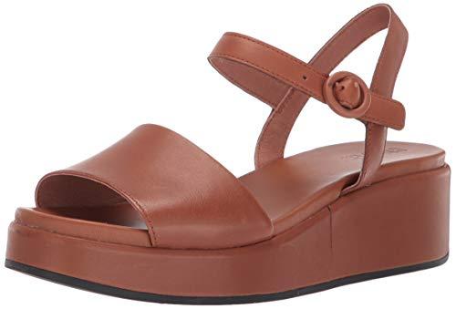 Camper Misia, Sandali con Cinturino alla Caviglia Donna, Rosa (Medium Brown 210), 39 EU