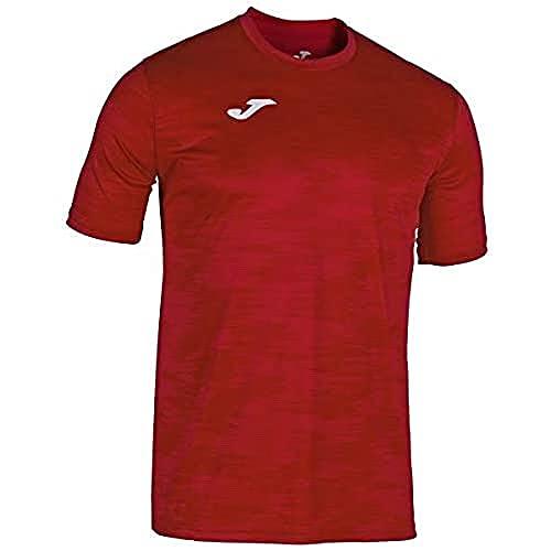 Joma Combi grafity Camisetas Equip. m/c, Hombre, Rojo, S