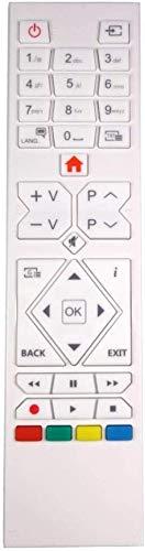 Blanco Genuino TV Control Remoto Repuesto para Antarion TVLT22DVDB2