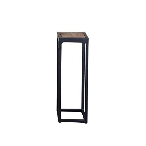 Everyday home Support de fleur de fer américain solide bois simple moderne plancher-debout balcon intérieur fleur pot rack (taille : #1)
