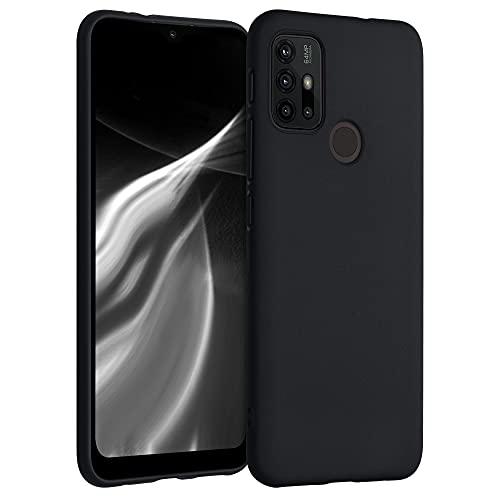 kwmobile Hülle kompatibel mit Motorola Moto G30 / Moto G20 / Moto G10 - Hülle Handyhülle - Handy Hülle in Schwarz matt