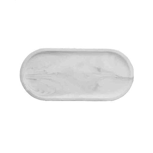 plaque profondément rectangulaire 18cm urban grey crème blanc Magu Nature Design Assiette