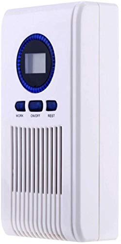 Hogar Generador de ozono Purificador de aire Hogar Ozonizador Desodorante Máquina de esterilización de filtro de aire portátil de oficina,Generador de Ozono