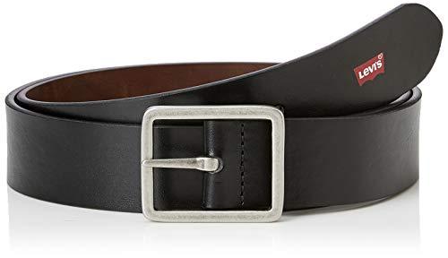 Levi's Galoo Reversible Belt Cintura, Nero (Regular Black 59), 4 (Taglia Produttore: 95) Uomo