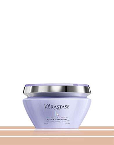 Kérastase Blond Absolu Masque Ultra-Violet 200 ml Perfektionierende Anti-Gelbstich Maske