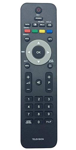 ALLIMITY Telecomando Sostituito per Philips TV YKF230-003 SCB272 SCB746 RC4706-01 19PFL3403 20PFL3403 22PFL3403 26PFL3403 32PFL3403 42PFL3403 42PFL5603