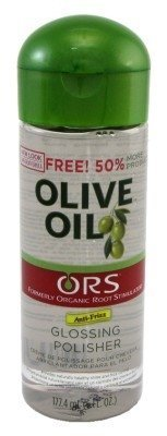 Olive Oil Glossing Polisher By Organic - 6 Ounce, ( Pack of 3) by Organic Root (ORS)