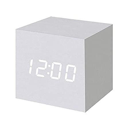 T&F Wood Alarm Clock