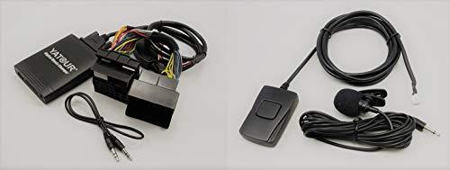 Yatour YTM06-MB-BTAdattatore Bluetooth per autoradio con interfaccia USB, SD, AUX,MP3 con vivavoce compatibile con Ford