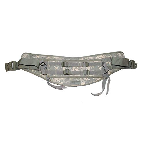 Old Grouch's Military Surplus US Army MOLLE II Molded Waist Belt (Kidney Pad) (ACU Camo)