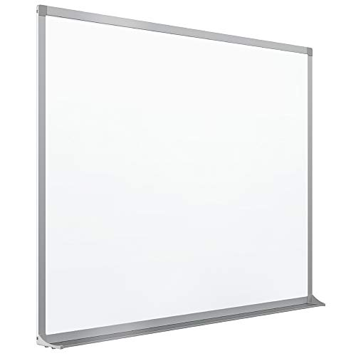 Quartet Porcelain Whiteboard, Magnetic Dry Erase White Board, 4