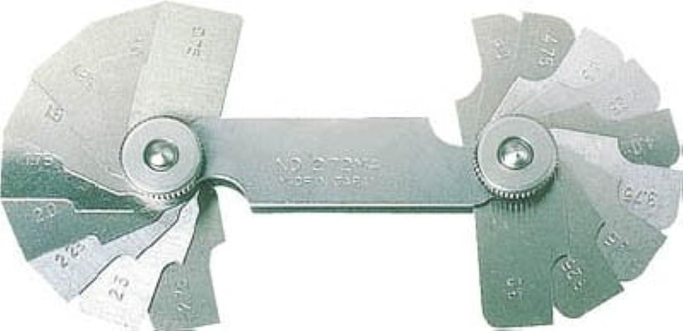 荷物圧縮する件名[N-2295679]TRUSCO ラジアスゲージ 測定範囲13.00~22.0 10枚組 272MC