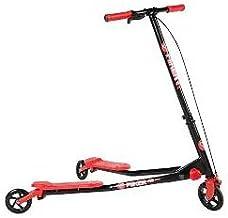 Monopattino a Farfalla 3 ruote bambini pieghevole in acciaio bipattino scooter con Freno colori assortiti