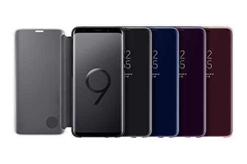 Samsung Clear View Standing Cover (EF-ZG960) für das Galaxy S9, Blau