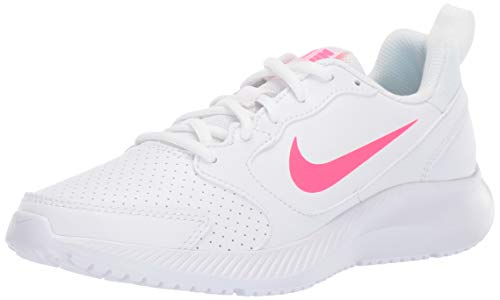 Nike Women's WMNS Todos Running Shoe, White/Hyper Pink, 9 Regular US