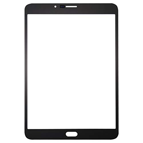 WSCHENG New Front Screen Outer Glass Lens For G/alaxy Tab S2 8.0 LTE / T719 (Color : White)