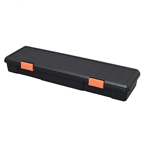アイリスオーヤマ 職人の車載ラック専用 ボックス ハードBOX ブラック/オレンジ HDB-1150