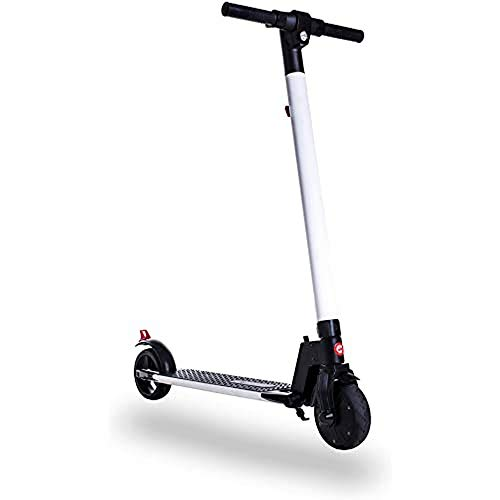 Patiente eléctrico Gotrax TT-EL-601 Blanco-Negro Patin ELECTRICO para niños/as, Potencia Motor 200W, Velocidad Maxima 25km, Autonomía 12km, Tiempo de Carga 2-3 Horas