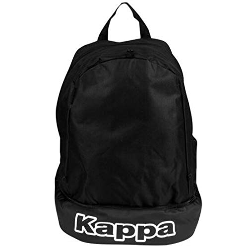 Kappa Supino Mochila Multideporte, Sin género, Negro, Talla única