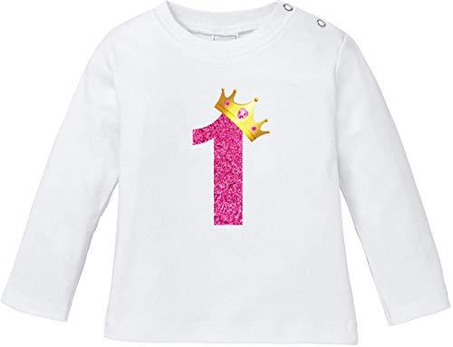 Pepolino Geburtstag   erster und zweiter Geburtstag T-Shirt Baby Langarm Bio Baumwolle