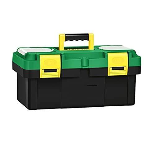 Caja herramientas almacenamiento Caja de herramientas multifunción Caja de mantenimiento de vehículos para el hogar con asa Herramientas portátiles Cajas de almacenamiento Herramientas de reparación O