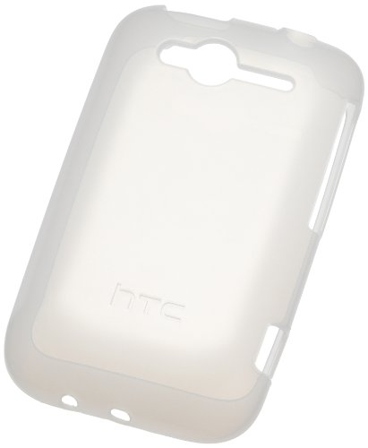 HTC TP C611 Wildfire S Translucent TPU weiß