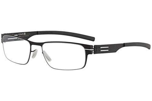 Ic!Berlin Eyewear Rast Black 51 Made in Germany 100% Authentic New