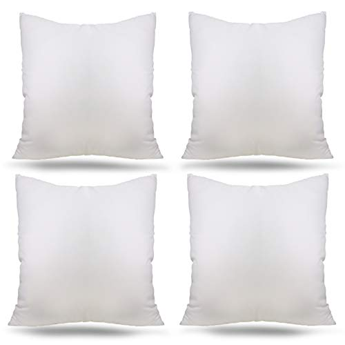 Ogrmar Hypoallergenic Premium White Throw Pillow