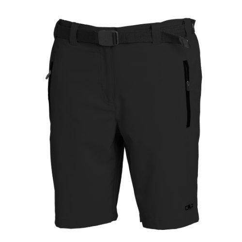 CMP 3T51146, Pantaloni Donna, Nero (Black/Black), XS