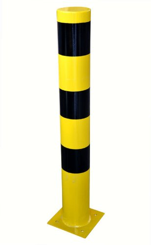 Sperrpfosten Absperrpoller Stahlpoller Sperrpoller Schutzpoller 120cmx25cm