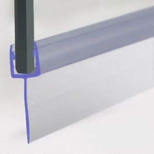 Duschdichtung für 5-6mm Duschtrennwand, Dichtung Dusche 90 cm lang, Höhe der Lippe 30 mm