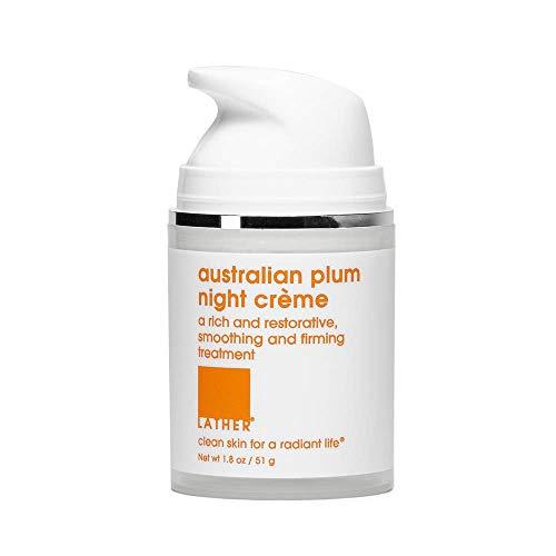 LATHER Australian Plum Night Crème, 1.8 Ounce