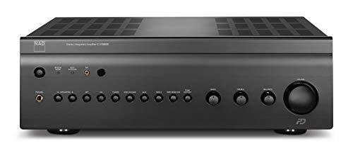 NAD C375BEE DAC 2.0 Audiophiler Stereo Vollverstärker mit integriertem DAC 2 Modul Graphit