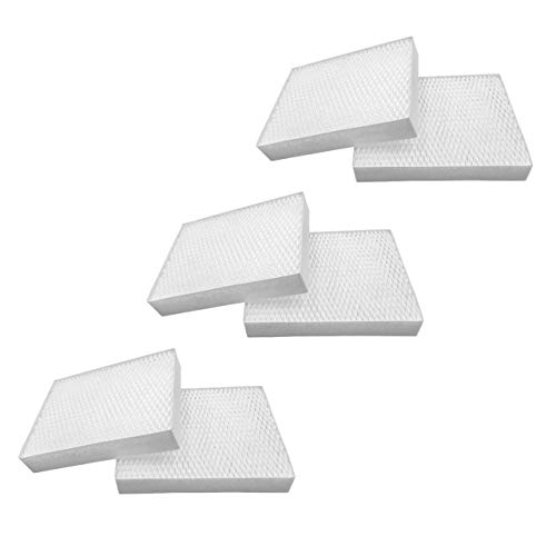 vhbw 6x Filter kompatibel mit Stadler Form Oskar, Oskar Little, Oskar Big Design Luftbefeuchter, Ersatz für Stadler Form 14643/10-6er Pack Filterset