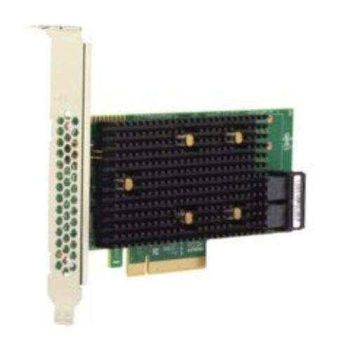 Broadcom 05 50008 02 9440 8i Speichercontroller RAID Plug in Karte Low Profile SchwarzGrun