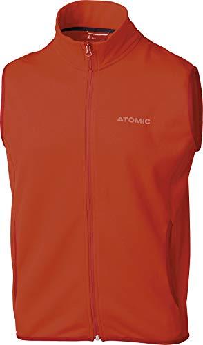 Atomic Alps-/Fleece Weste, Rot (Dark Red), Größe 2XL