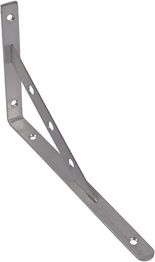 FFLSDR 2pcs Stainless Cheap SALE Start Steel Brackets Tr 10 Inch online shop Shelves Floating