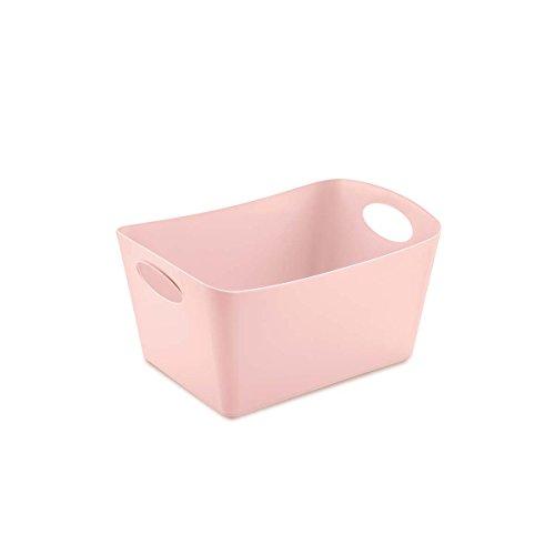 koziol caissette de rangement 1 l Boxxx S, thermoplastique, powder rose, 12,8 x 18,7 x 10,8 cm