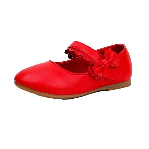 Zapatos de Princesa para niñas Impermeables Informales con Suela Suave de Cuero...