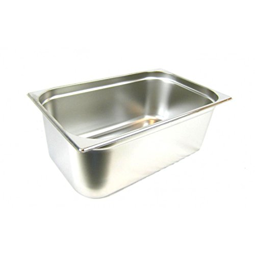 GN 1/1 Gastronormbehälter GN-Behälter Gastronorm Edelstahl 28 Liter Tiefe 200mm