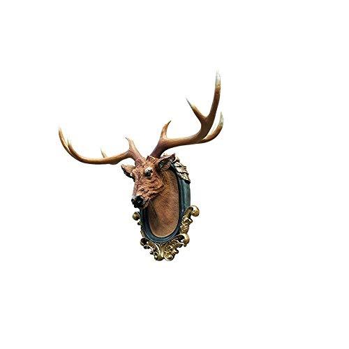 GPWDSN Origami Animal Head Resina Wall Decoración de la Pared del hogar Mono Lion Orb Geometric 3D Stereo 30.5 * 22.5 * 36.2cm Animal Head (S)