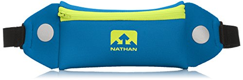 Nathan Mini 5K Belt, Nathan Blue, One Size