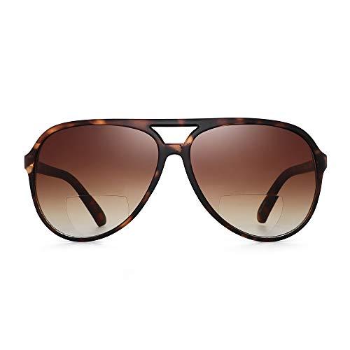 JM Gafas de sol de lectura bifocales para hombres, mujeres, lectores de...